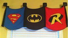 super hero room ideas cape valance - Bing Images