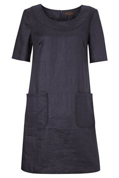 Sandbanks Linen Tunic Dress - Great Plains - love the simple, classic lines. Simplicity 2211