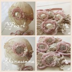 Victoria Tieback / Royal Baby CollectionSize | Newborn to AdultsColor | RoseDetails | Delicate vintage inspired rose adorns Rhinestone Embellishment with Vintage inspired Lace on a Jersey TiebackCare | Spot cleanNote | Product intended as a photo prop. Do not leave baby unattended.Photo | Ama Bella Rosa