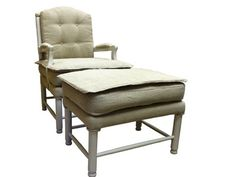 Armchair with Ottoman Grey  #modernfurniture #designertvstand #officedesignideas #designerbookcase #officedesk #deskdesign #mfd #bookcase #modernfurnituredeals #affordable