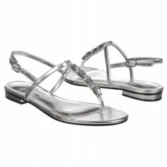 Women's Touch of Nina Dalani Silver Metallic FamousFootwear.com    Possible bridesmaid shoes