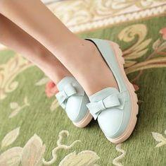 Gizmal Boots - Bow Accent Flats #flats #bowaccentflats