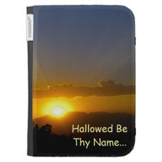Hallowed Be Thy Name Kindle Keyboard Cases #zazzle #kindlecase #hallowedbethyname @FredFlyfisher Fotos