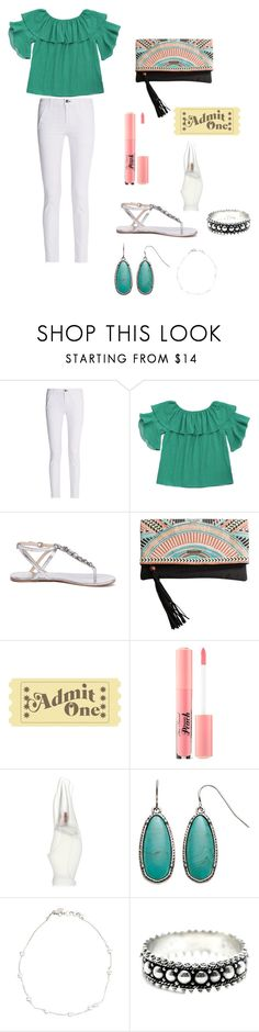 """""""Austin City Limits Evening Out"""" by sunshower315 on Polyvore featuring rag & bone, Siren, Rip Curl, Too Faced Cosmetics and Donna Karan"""