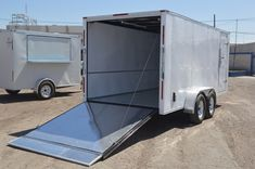 Enclosed Cargo Trailers, Cargo Trailer Camper, Best Trailers, Ham Radio Antenna, Rv Accessories, Cars And Motorcycles, Jeep, Camping Trailers, Pickup Trucks