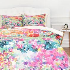 Jacqueline Maldonado Secret Garden 1 Duvet Set by DENY Designs