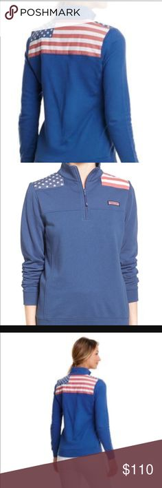 Vineyard vines American flag 🇺🇸 shep XL Women's hard to find vineyard vines American flag shep shirt in size XL brand new with retail tags price is FIRM NO TRADES ships within a day from my smoke free home....  please don't leave rude low ball offers in the comment section.  For those that are new to this app posh takes 20 % of every sale.  Only nice poshers in my closet please all others will be banned from the kingdom Vineyard Vines Sweaters