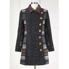 Button Coat - Women's Clothing, Unique Boutique Styles & Classic Wardrobe Essentials