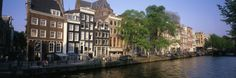 Netherlands, Amsterdam, Canal Photographic Print by Panoramic Images at Art.co.uk