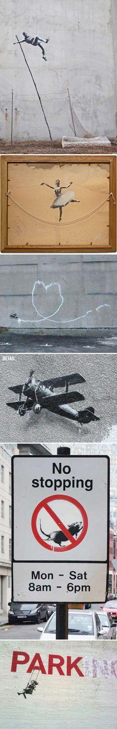 banksy of course! for street art Art Public, Kunst Online, Street Art Graffiti, Banksy Graffiti, Bansky, Photo D Art, Pop Art, Art For Art Sake, Art Design