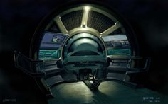 'Hovership Interior' by Mark Goerner