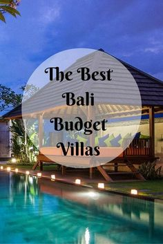 If you think staying in a private villa in Bali is expensive, let us enlighten you with the best Bali budget villas that won't burn a hole in your pocket. alles für Ihren Stil - www. Vacation Destinations, Dream Vacations, Vacation Spots, Vacation Deals, Holiday Destinations, Oh The Places You'll Go, Places To Travel, Places To Visit, Bali Travel Guide