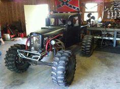 Old Ford rock crawler