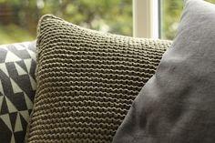 YARNFREAK: DIY - strikket pude