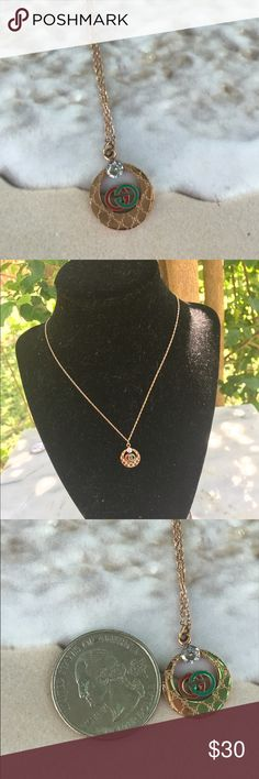 ❣️🌼Like GUCCI NECKLACE 🌹 GOLD❣️🌼 Material:💎Stainless Steel Jewelry 💎.   HIGH QUALITY HYPOALLERGENIC WILL NOT TARNISH OR RUST IT WILL KEEP IT COLOR A LIFETIME.🌹 Jewelry Necklaces