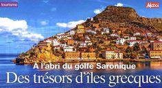 Magazine Maxi avril 206 : les trésors des îles grecques du golfe #Saronique. #LabelEvasions #VacancesHéliades