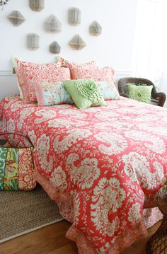 New Organic Bedding from Amy Butler! | Apartment Therapy
