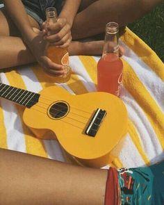 I used to have a yellow ukulele, but it broke :( Aesthetic Colors, Summer Aesthetic, Aesthetic Pictures, Aesthetic Yellow, Camping Aesthetic, Sun Aesthetic, Music Aesthetic, Photocollage, Yellow Walls