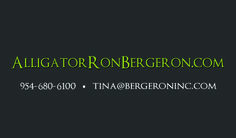 Alligator Ron business Card