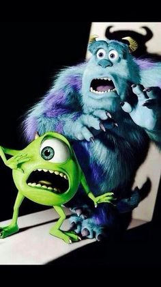 Day Favorite Pixar Movie: Monsters Inc. I laugh, I cry. Disney Pixar, Disney Monsters, Disney And Dreamworks, Disney Art, Walt Disney, Cartoon Monsters, Monsters Inc., Cartoon Cartoon, Monsters Inc