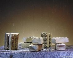These are rustic Lego style cement magnetic paperweights. I have rubbed them with a dark wax to give them a more earthy look. There are 10 pictured. This listing is for a pair of TWO paperweights. Cement, Concrete, Custom Jewelry, Unique Jewelry, Dark Wax, 10 Picture, Paper Weights, Earthy, Magnets