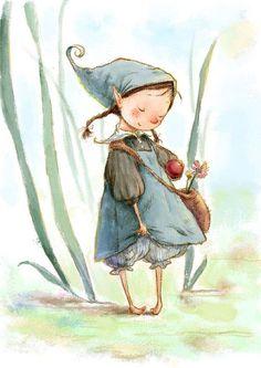 Little girl painted forest- Kleine Mädchen Gemalten Wald Little Girl Painted Forest Free PNG and Clipart - Art And Illustration, Illustration Mignonne, Watercolor Illustration Children, Fantasy Kunst, Fantasy Art, Forest Cartoon, Art Fantaisiste, Art Mignon, Fairy Art