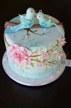 . Fondant, Button Cake, Fab Cakes, Cake Models, Pastry Art, Valentine Cake, Sugar Art, Creative Cakes, Celebration Cakes