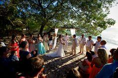Destination wedding in Playa Flamingo Costa Rica by Photographer Natan Fotografia - Full Post: http://www.brideswithoutborders.com/inspiration/relaxed-costa-rican-beach-wedding-and-waterfall-photoshoot-by-natan-fotografia