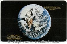 "- Linking The World - No written text ""Plessey Payphone Card 1000 Units"" or ""Linking The World"" on face of card Christmas Bulbs, The Unit, World, Cards, Face, The World, Christmas Light Bulbs, Faces, Maps"