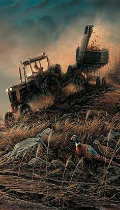Evening Harvest by Terry Redlin