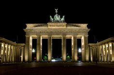 Puerta de Brandemburgo, en Berlín