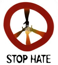 Let's stop hate...it starts with me and you
