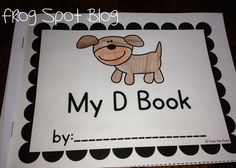 Frog Spot: Let's Learn D and a FREE Reader