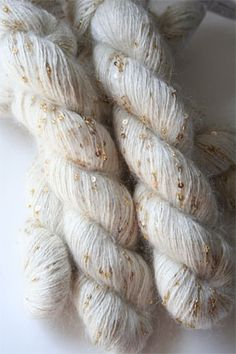 3/28 Special On Artyarns Fabulous Mohair Splash Yarn with beads & Sequins!
