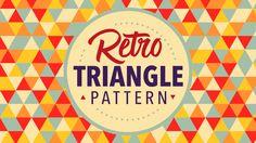 Video Tutorial: Retro Triangle Pattern in Adobe Illustrator