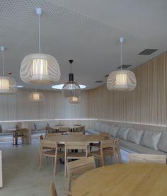 Carlos Morales Arquitectos Interior Design for Restaurant El Lago at CLS