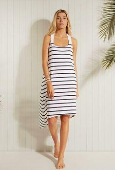 e3b60a22f2151 HEIDI KLEIN Maine Twist Back Dress