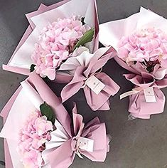 Ideas For Flowers Bouquet Ideas Beautiful - Blumenstrauß - Flower Flower Bouquet Diy, Bouquet Wrap, Gift Bouquet, Hand Bouquet, Floral Bouquets, Hydrangea Bouquet, Small Bouquet, Felt Flowers, Diy Flowers