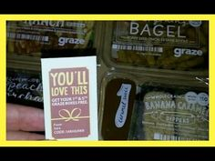 Unboxing graze box + free box for you! - YouTube