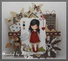 Nellie's Handmade Cards .: Gorjuss Girl