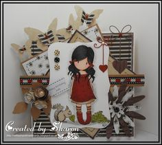 Nellie's Handmade Cards .: Gorjuss Girl