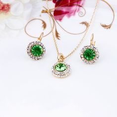 Get Amazing and Lovable #Crystal #Jewelry Sets for your Cheerful Life.