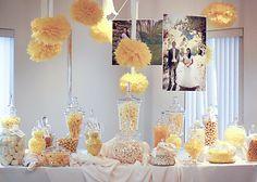 Cute candy buffet