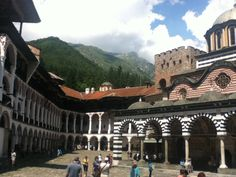 Monastery in Bulgaria