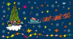 James Rizzi, Snoopy, Fictional Characters, Christmas Time, Kunst, Fantasy Characters
