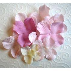 Silkkikukka Hydrangea vaaleanpunainen 10 kpl (1e sinisiipi.fi)
