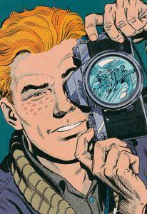 Jimmy Olsen - the Photojournalist for The Daily Planet Make A Comic Book, Comic Books, Creative Profile Picture, Jimmy Olsen, Superman Family, Christopher Reeve, Old Comics, Clark Kent, Dc Heroes