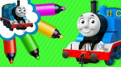 Thomas and Friends Coloring Book - Learn Colors and Coloring Thomas the ...