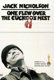 """One Flew Over the Cuckoo's Nest"" directed by Miloš Forman / 3rd grossing film in 1975 カッコーの巣の上で"