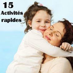 15 choses que vous pouvez faire avec vos enfants en 10 min